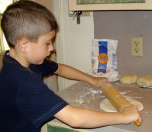 Rolling Homemade Pasta in southeast Texas
