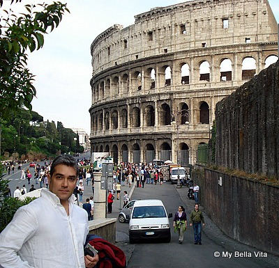 Peppe in Rome, Italy-The Colloseum