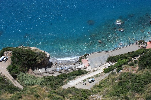 Beach in Cetraro Calabria Travel