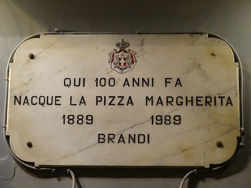 Pizzeria Brandi Naples La Pizza Margherita 1889
