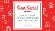 Ultimate Holiday Gift Guide for Italy Lovers