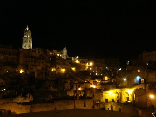 matera night romantic