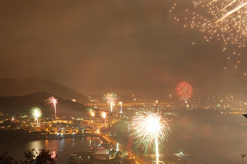 New Years in Italy: Fireworks on the The Amalfi Coast | My ...