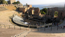 The Ancient Theatre in Taormina