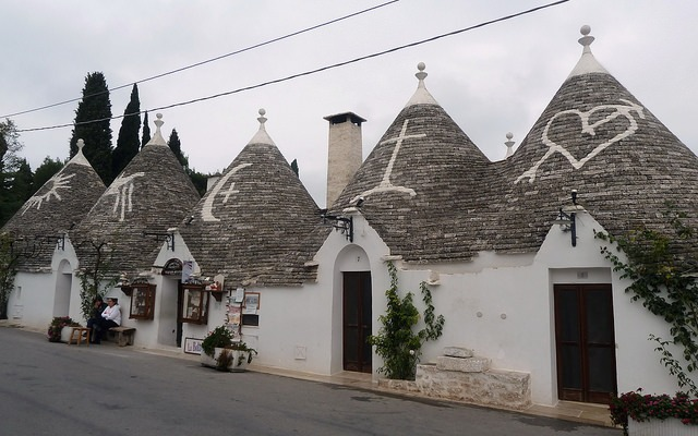 trulli houses alberobello bari puglia travel